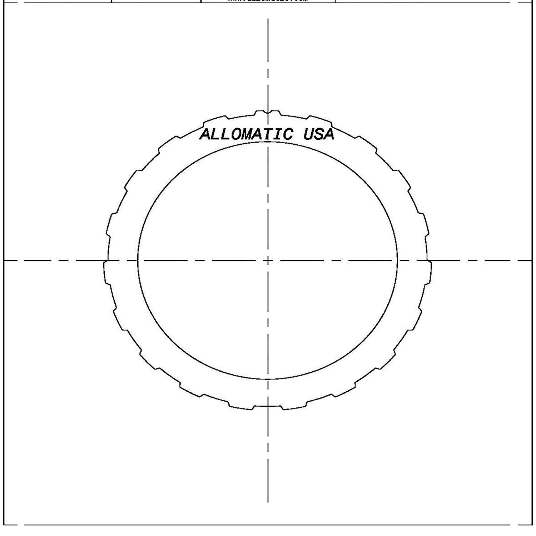 C3, A4LD, A4LD-E, 4R44E, 4R55E, 5R44E, 5R55E Forward A4LD