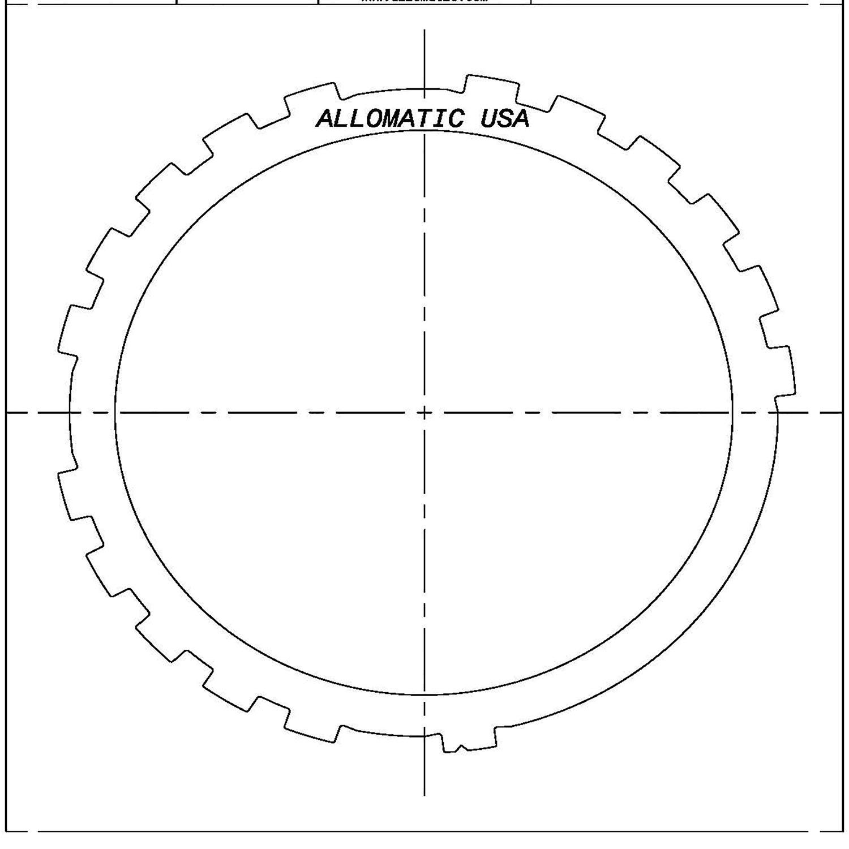 TH700-R4, 4L60, 4L60E, 4L65E, 4L70E Low, Reverse Kolene