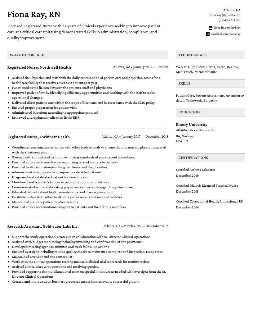 It follows a simple resume format, with name and address bolded at the top,. Professional Resume Builder Easy Resume