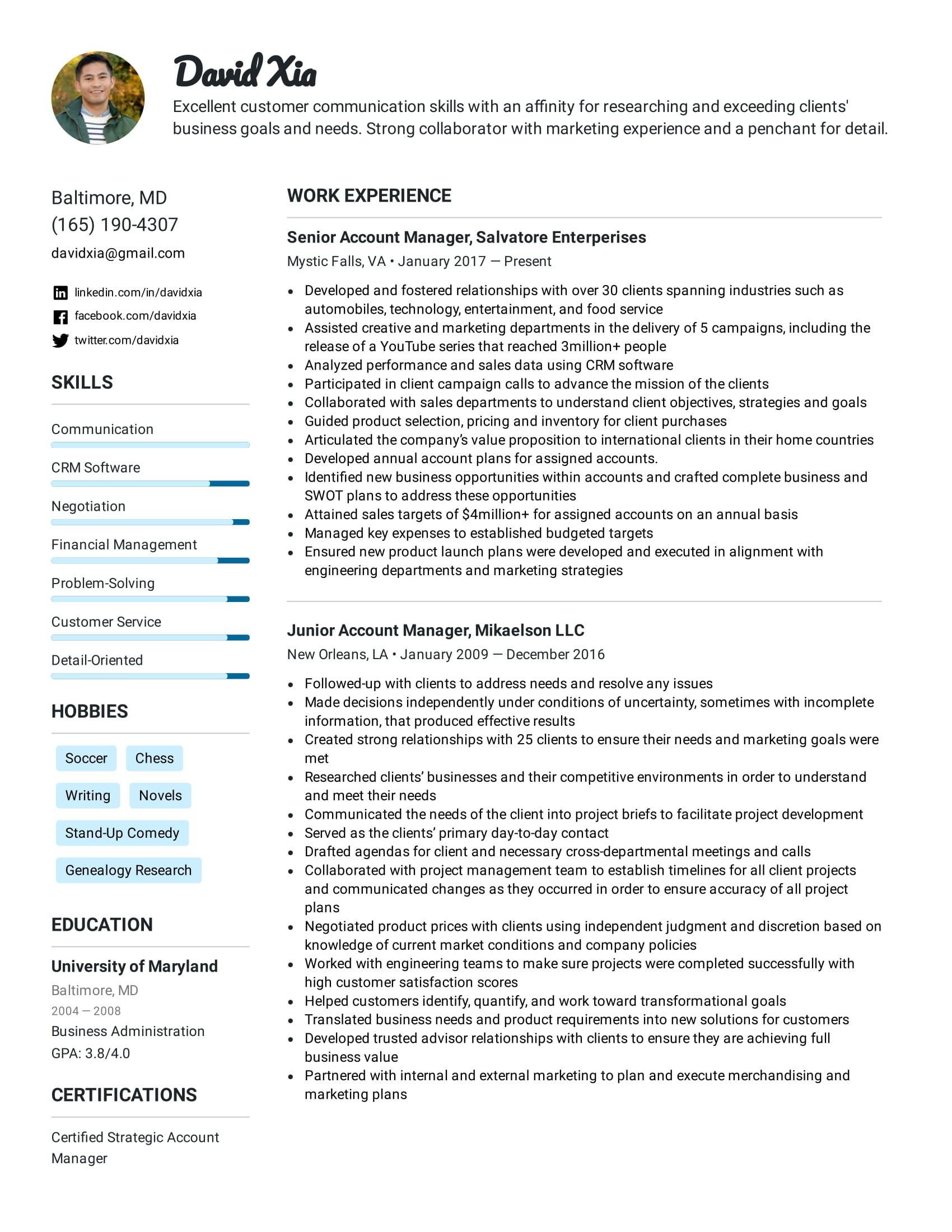 We may earn a commission through links on our site. Simple Resume Templates Formats For 2021 Easy Resume