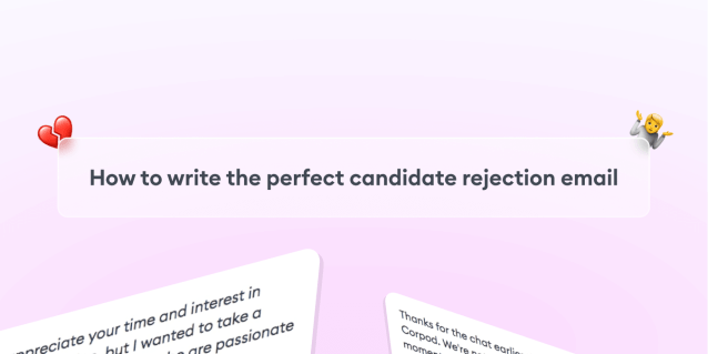 How to Write the Perfect Candidate Rejection Email with Our Templates