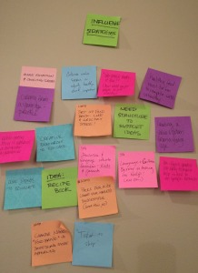 Sticky notes: imperative to the human-centered design process