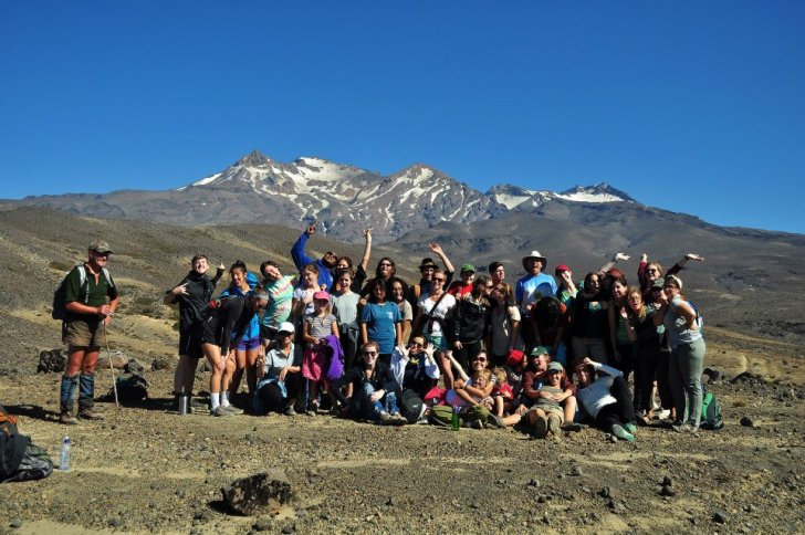 IHP at a mountain sacred to the Maori in New Zealand