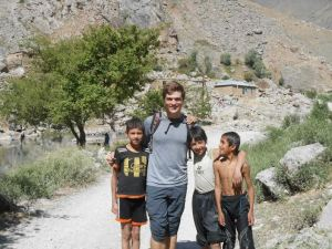 Traveling through rural Tajikistan, 2013