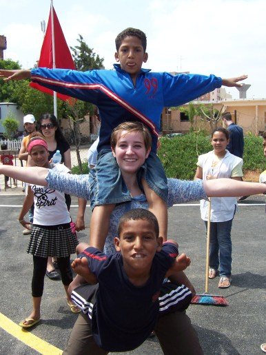 Youth circus camp