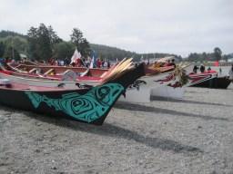 Canoe journeys