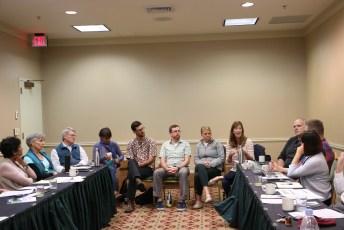 ISEEN board members at the GEBG meeting