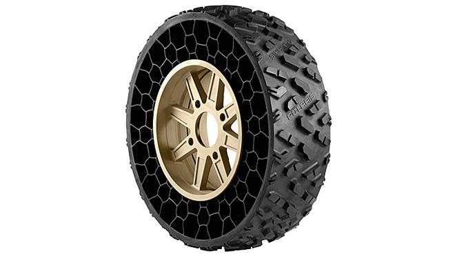 U.S. Military begins rolling on airless tires | Michael ...