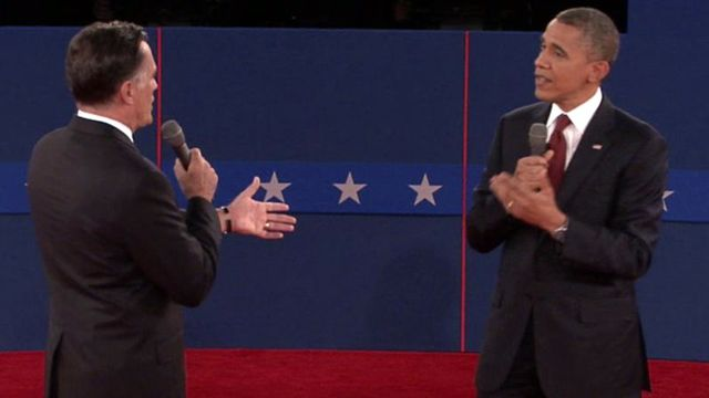 President Obama & Governor Mitt Romney second debate, Town Hall style