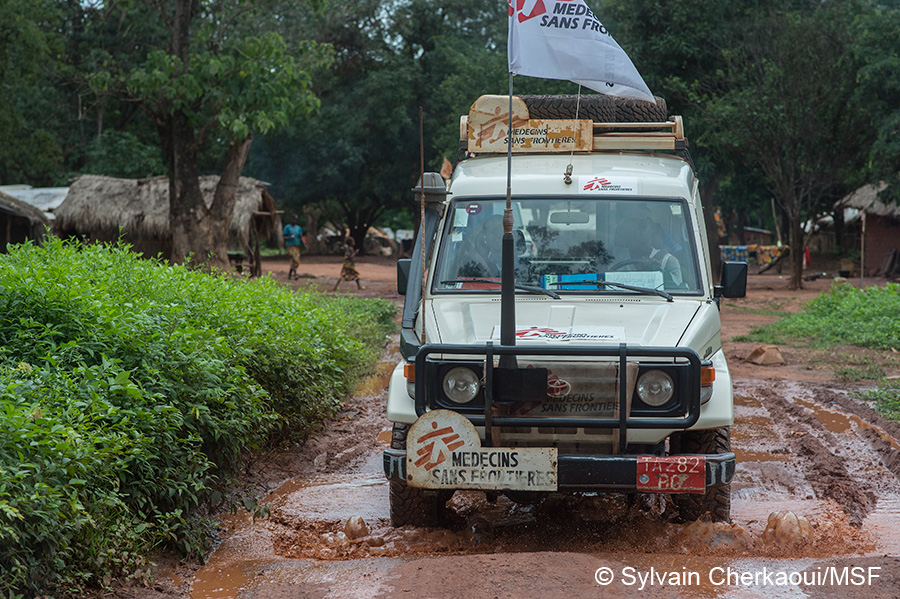 Land Cruiser for Medecins Sans Frontiers