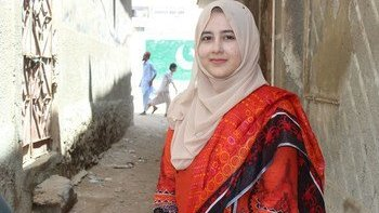 image350x235cropped - باكستان: عاملة صحية تتعهد بمكافحة شلل الأطفال برغم التحديات التي يشكلها كوفيد-19