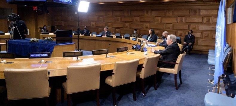El Secretario General António Guterres durante su participación en el Diálogo de Alto Nivel sobre Energía.