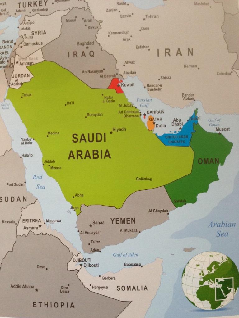 Dubai World Map My Blog