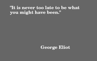 Quote: George Eliot