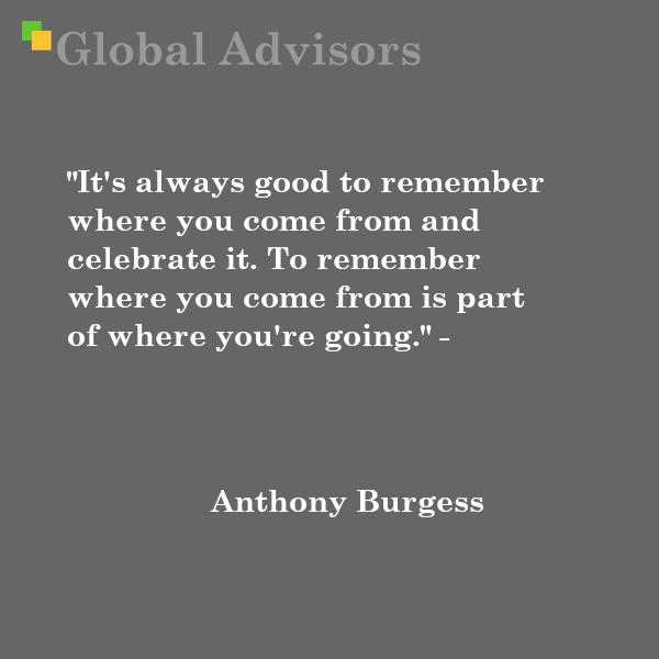 Quote: Anthony Burgess
