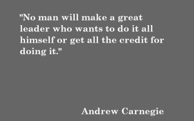Quote: Andrew Carnegie