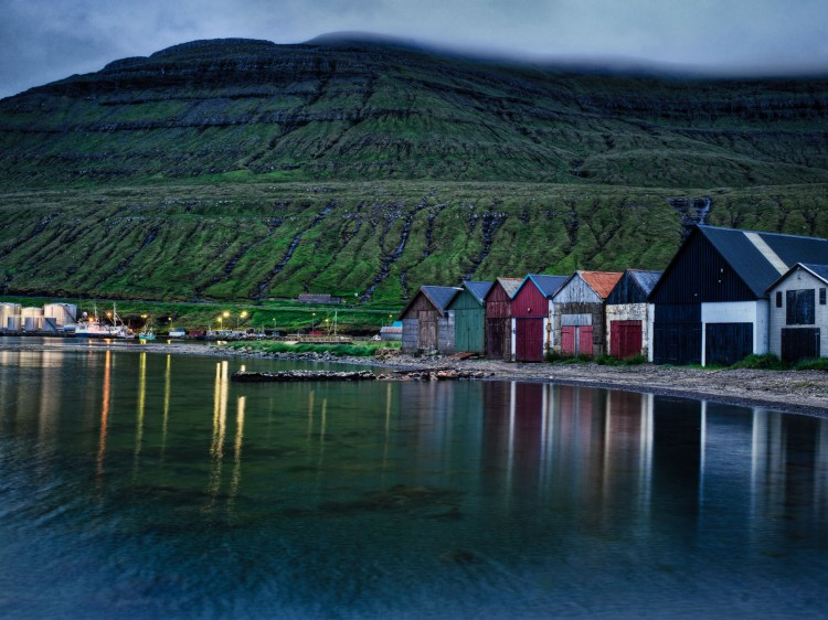 Faroe Islands Lake