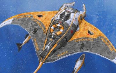 Manta Underwater Drone