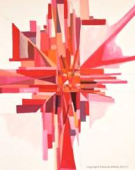 'I C Red' By Annarita Melina