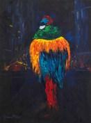 Joanna Blair - Madame Oiseau on her way to the Lido
