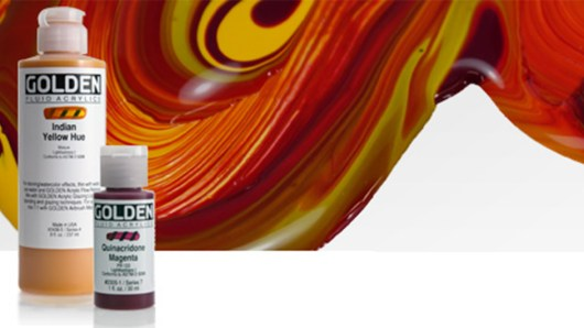 Golden Fluid | Golden Acrylics | Global Art Supplies