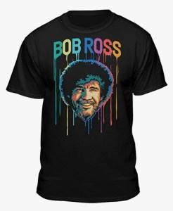 Bob Ross Paint Drip