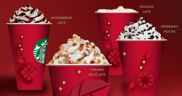 Starbucks BOGO Holiday Drinks Promotion