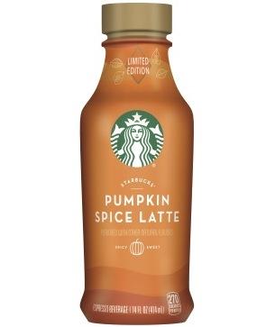 starbucks iced latte pumpkin