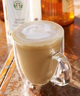 Flavored Latte Starbucks Coffee Company