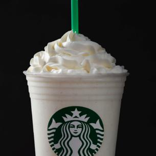 cotton candy crème frappuccino