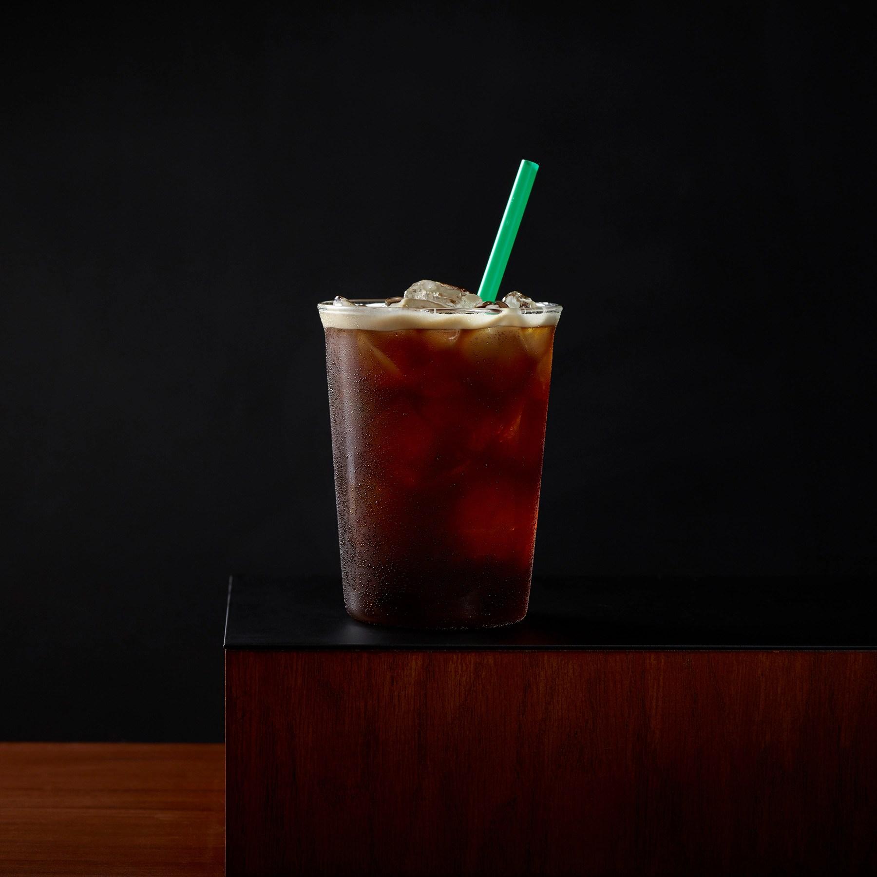Iced Caff Americano  Starbucks Coffee Company