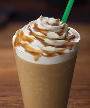 Caramel Flan Light Frappuccino Blended Coffee  Starbucks