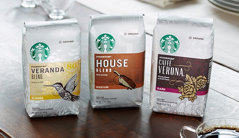 New Packaging Comes To Starbucks Stores Starbucks Coffee