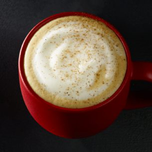 Eggnog Latte Starbucks Coffee Company
