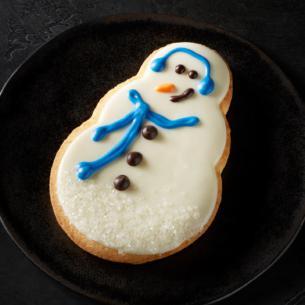 Snowman Cookie Starbucks Coffee Company