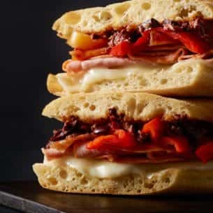 Image result for starbucks ham & salami panini