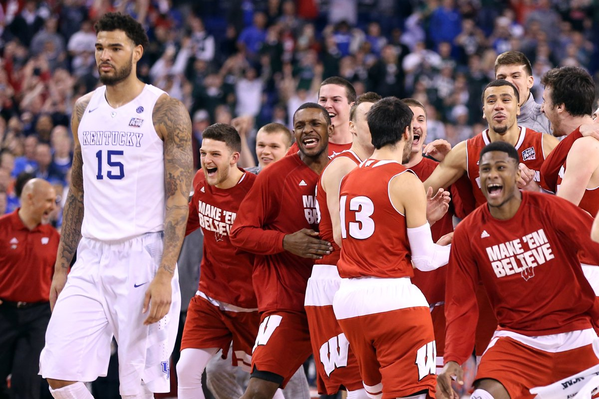 Image result for badgers basketball kentucky