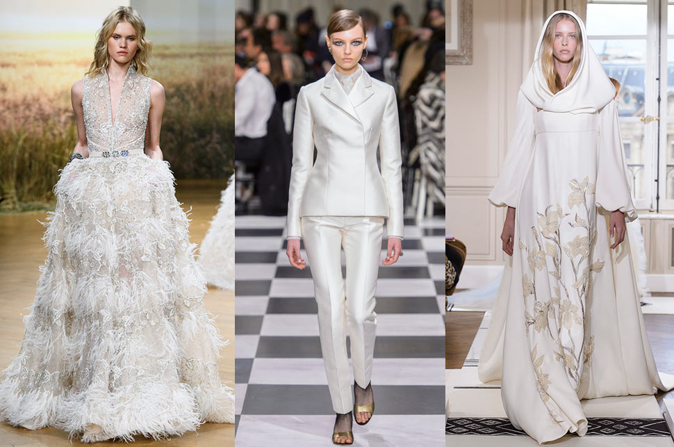 The Best Wedding Dresses From Haute Couture SS18