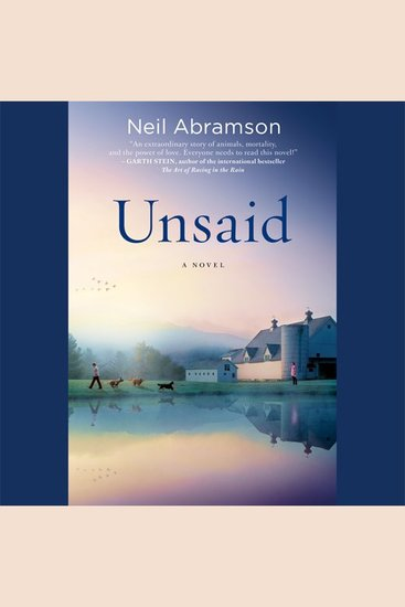 Unsaid A Novel Read Book Online