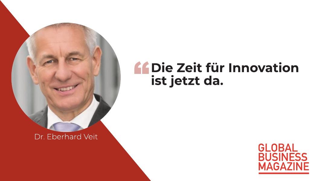 """Dr. Eberhard Veit: """"In einigen Unternehmen herrscht regelrecht Aufbruchsstimmung"""""""