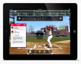 MLB mobile app