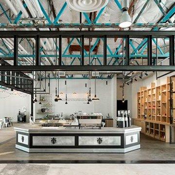The La Marzocco café & showroom