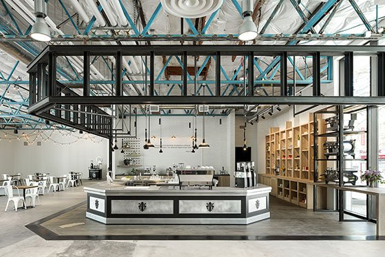 The La Marzocco café & showroom