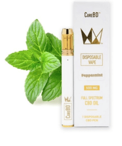 Buy Peppermint CureBD Disposable Vape Online