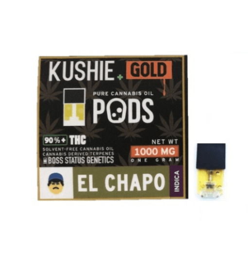 Buy Kushie Gold Super High Potency JUUL Pods