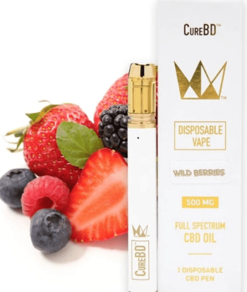Buy Strawberry Banana CureBD Disposable Vape Online