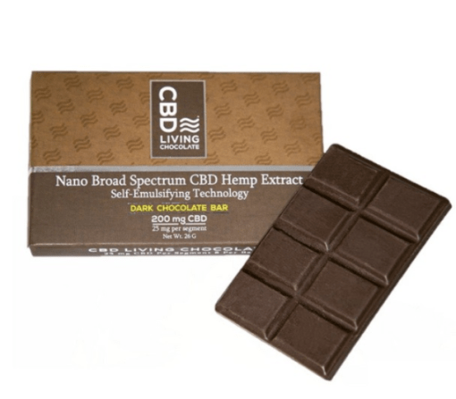 Buy CBD Living Chocolate Bar Online
