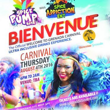 Bienvenue Grenada Carnival 2016