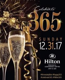 Hilton NYE 2018 Trinidad