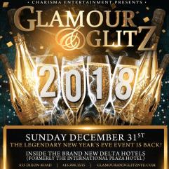 Glamour and Glitz 2018 NYE
